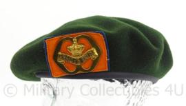 KL Landmacht baret met Prinses Irene Brigade insigne - DT2000 - maker Hassing - maat 58 - origineel
