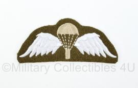 WO2 Britse leger Paratrooper wing embleem - 10 x 4 cm