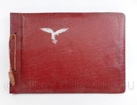 WO2 Duitse Luftwaffe leeg fotoalbum met 1e model Adelaar - 32 x 22,5 x 1,5 cm - origineel