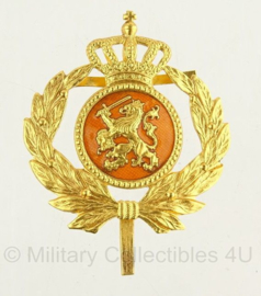 KL Nederlandse leger hoofdofficier pet insigne - origineel