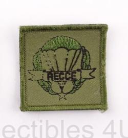 KL Nederlandse leger RECCE Reconnaissance borst embleem met klittenband - 5 x 5 cm - origineel