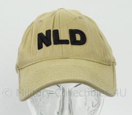 KL Landmacht missie baseball cap - maat S/M - Flexfit - origineel
