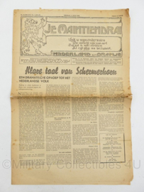 krant JM Je Maintiendrai van 6 juli  1945 - origineel