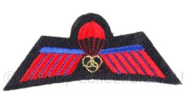 Korps Mariniers rode parawing instructeur - ZELDZAAM - origineel