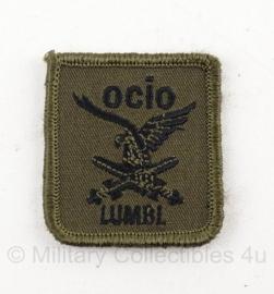 KL Nederlandse leger Lumbl Luchtmobiel OCIO borstembleem met klittenband - origineel