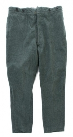 Zwitserse groene wollen uniform broek - lijkt op Duits WO2 - origineel