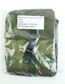 Korps Mariniers Forest Woodland camo opbouwtas algemeen middel - NIEUW in verpakking - origineel