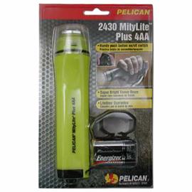 XENON Pelican Mitylite Flashlight MityLITE 2430 Zone 1 - ook voor brandweerhelmen - nieuw in verpakking - origineel