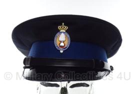 KMAR Koninklijke Marechaussee huidig model platte pet manschappen - maat 57 - origineel
