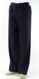 KM Koninklijke Marine wollen broek 1965 - donkerblauw - maat 48 - origineel