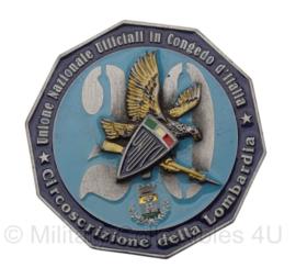 Penning Italie pattuglie militari Lombardia 2006 Militaire parade - 8 x 8 cm - 2006 - origineel
