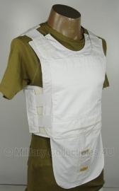 Britse politie kogel- en steekwerend vest hoes- (zonder inhoud) - WIT - merk Highmark - origineel