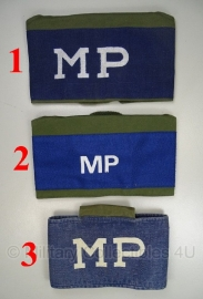 KL armband / schouderband Military Police MP Armband - origineel