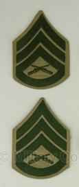 USMC Marine Corps rangen set  - Staff Sergeant - origineel