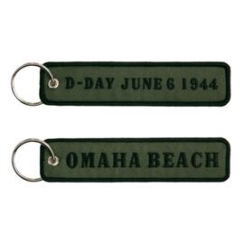 Sleutelhanger D-Day June 6, 1944 OMAHA beach - 12,5 x 3 cm