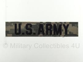 US Army ACU camo branch tape/naamlint met klittenband - origineel