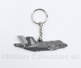 KLU Koninklijke Luchtmacht F35 sleutelhanger - 8 x 2,5 cm - NIEUW - origineel