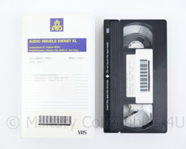 KL Audio visuele dienst Videoband Samenwerking maakt vrede 1993 - origineel