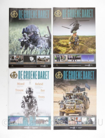 Tijdschrift set van 4 stuks KCT Korps Commando Troepen 2015 - 30 x 21 cm - origineel