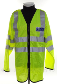 Police Politie geel reflectie dunne overjas - Community Support Officer - size Small - origineel