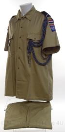 KMAR Koninklijke Marechaussee Police Untag Namibia uniform set - maat jas 45 en maat broek 54 - origineel