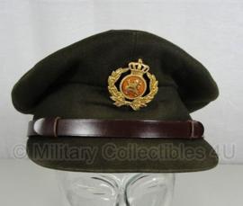 KL platte pet Officier - vorig model - maat 58 - origineel