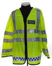 Politie reflecterend jack geel reflecterend - Metropolitan POLICE  - origineel