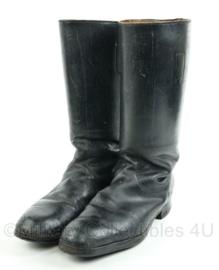 Officiers laarzen, lijken op WO2 Duits model - naoorlogs - maat 36 - origineel