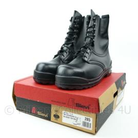 KLU Luchtmacht wintervliegerlaars winter laarzen voor piloten vlieger zwart met snelsluiting - maat 285 = maat 44,5 - NIEUW in doos - zeldzaam - origineel