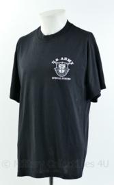 US Army Soffe T-shirt met korte mouw - Special Forces - zwart - maat Large - gedragen - origineel