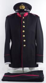 """KL Koninklijke Landmacht gala uniform jasje, broek en pet voor officier  - """"militaire administratie"""" - maat 48 - 1978 - origineel"""