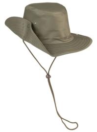Boonie hat / Bush hat - extra hoog voorgevormd model - Groen