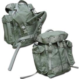 KLU Luchtmacht daypack rugzak groen 1993 25L - ongebruikt - met NSN nummer - origineel