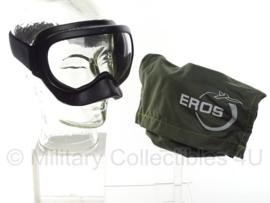 Eros P/N MXP 210 Eros Smoke Goggles Cabin Crew Safety voor in vliegtuigen - met opbergzakje - origineel