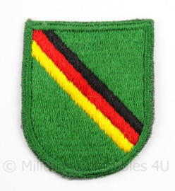US Army Special Forces baret insigne 39th SFCOY flash patch - afmeting 4,5 x 6 cm - origineel