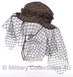Tactical Concealment Sniper boonie hat SLA Schutter Lange Afstand COYOTE - one size - origineel Nederlands leger issue!