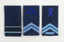KLu Luchtmacht DT epauletten - verschillende rangen - origineel