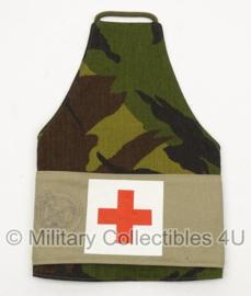 KL Nederlands leger medische armband woodland - Geneeskundige Dienst - origineel