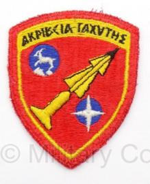 KL Embleem Griekenland Raketinstallatie Kreta Patriot Missie - Origineel