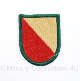 US Army naoorlogse beret flash  - 6 x 5 cm - origineel