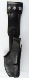 KMAR  Marechaussee of Politie motor holster met draaimodule - gebruikt - afmeting 39 x 8,5 x 4,5 cm - origineel