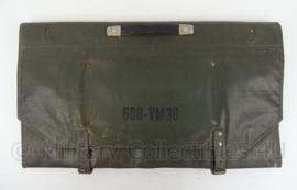 Duitse DDR Werkzeugtasche 600 VM30 - 60 x 150 cm !!- zonder inhoud - origineel