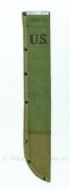 Kapmes schede machete schede -45 cm.  replica wo2 us Groen