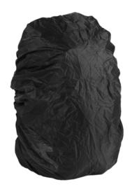 Rugzak overtrek - zwart - maat 2 = 60 t/m 80 liter