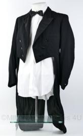 Heren kostuum jacquet jas en overhemd - maat 96 - origineel