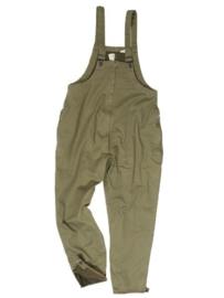 Tanker trousers replica WW2 met dikke voering - maat Large of Extra Large