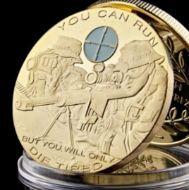 Coin You can Run, But you will only Die Tired!  Sniper Coin