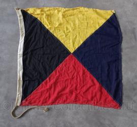Wo2 Britse seinvlag - 85 x 81 cm - origineel