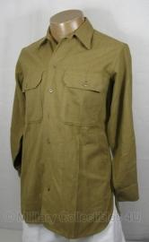 US M1937 overhemd / blouse - maat 15-32 - origineel WO2