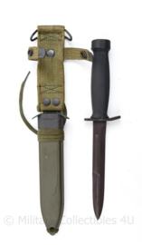 Bundeswehr Carl Eickhorn US M7 gevechtsmes met M8a1 schede - 29,5 cm - origineel